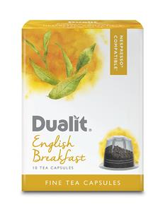 Dualit Fine Tea ENGLISH BREAKFAST. NX Capsules / 60 pk