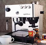 "La Pavoni ""Napolitana"" Stainless Steel Cappuccino and Espresso Maker"