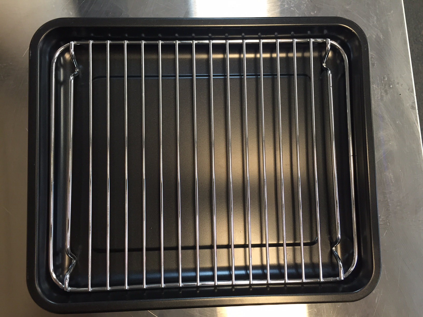 Banking pan with wire rack, Dualit mini oven 89220 - Electra-craft.com